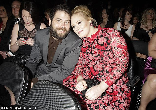 Separation:The Someone Like You hitmaker, 30, is reported to be meeting with the piercer in the next few weeks (pictured with her estranged husband Simon in 2013)