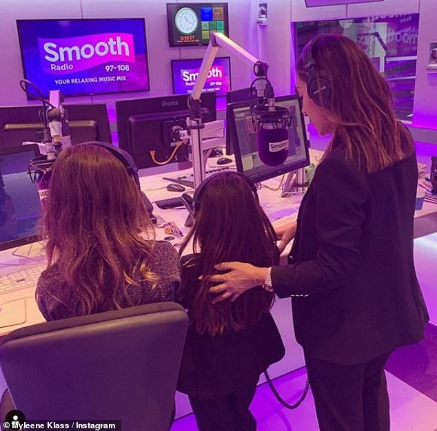 Mother: The radio presenter is a devoted mother to her two daughters, who she shares with her ex-husband Graham Quinn, who walked out on her 34th birthday in April 2012