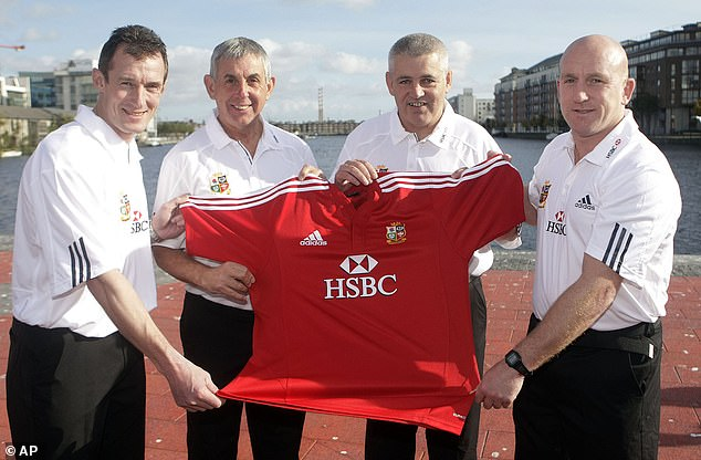 Gatland's first involvement with the Lions was as part of Ian McGeechan's staff in 2009