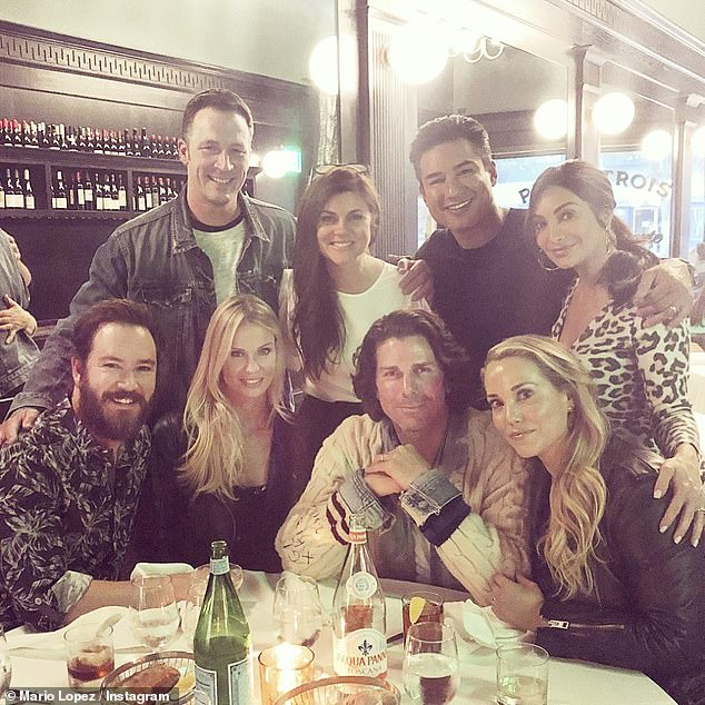 Gangs all here: The cast of Saved By The Bell had a mini-reunion in Los Angeles on Saturday