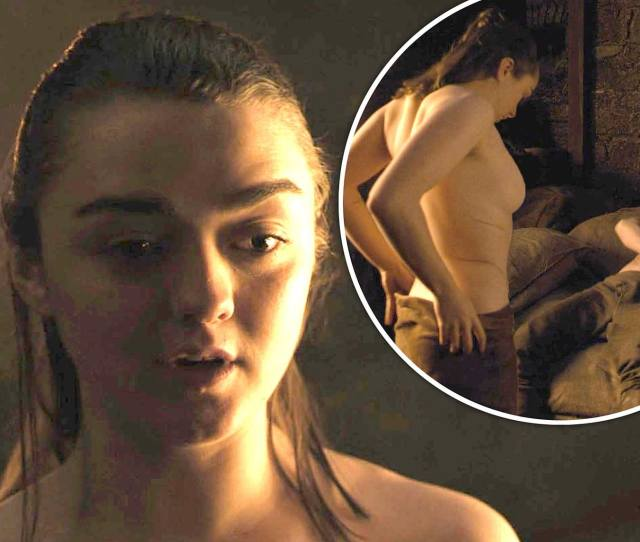 Game Of Thrones Star Maisie Williams Admits She Thought Aryas Sex