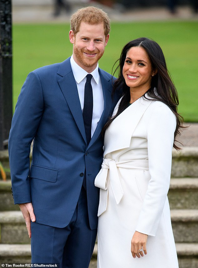 The royal photographer said the difference between shooting the Duchess of Sussex and the Duchess of Cambridge is Meghan and Harry (pictured) are less traditional in their approach