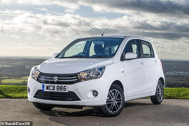 Another cheap runner is the Suzuki Celerio. You can get one for less than £7,000 new and it will return almost 58mpg in the real world