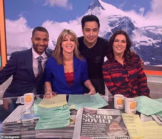 Mr Purja had previously appeared on Good Morning Britain with Sean Fletcher, Kate Garraway and Susanna Reid to promote Project Possible