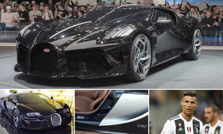 Image result for Cristiano Ronaldo buys world's most expensive car