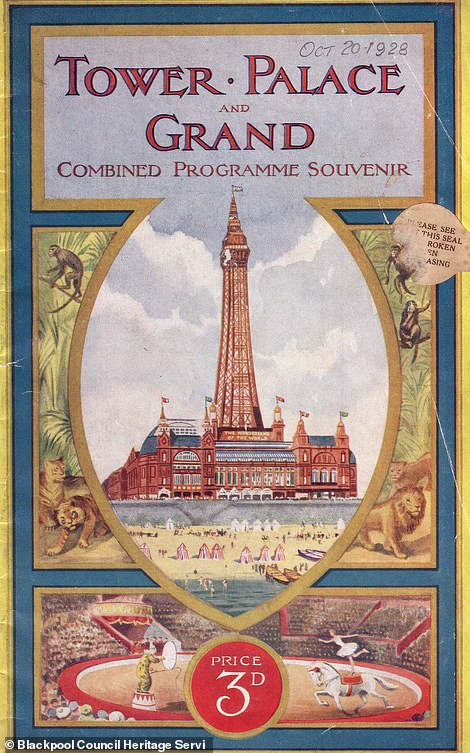 A Blackpool Tower brochure from 1928