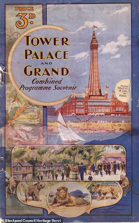 Blackpool Tower brochure from 1929
