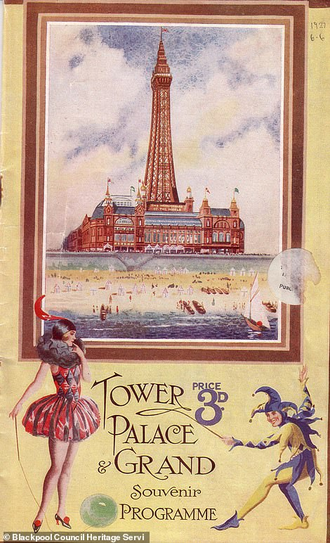 A Blackpool Tower brochure from 1927