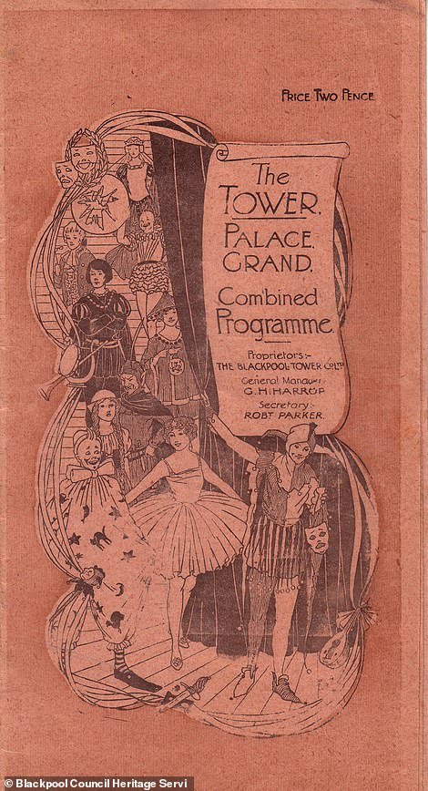 A Blackpool Tower brochure from 1919