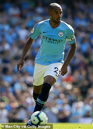Fernandinho is possibly the best defensive midfielder in England