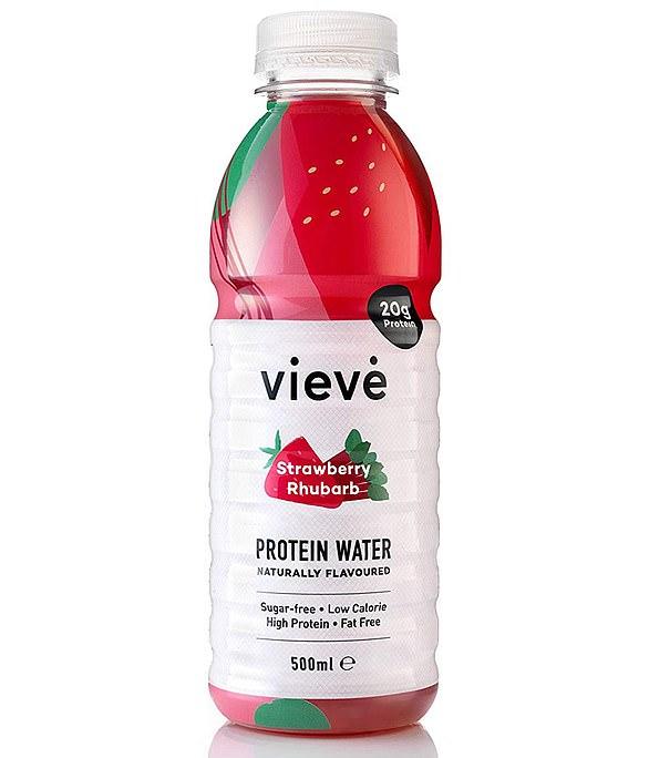 Vieve Protein Water Strawberry & Rhubarb 500ml, ocado.com, £2.49
