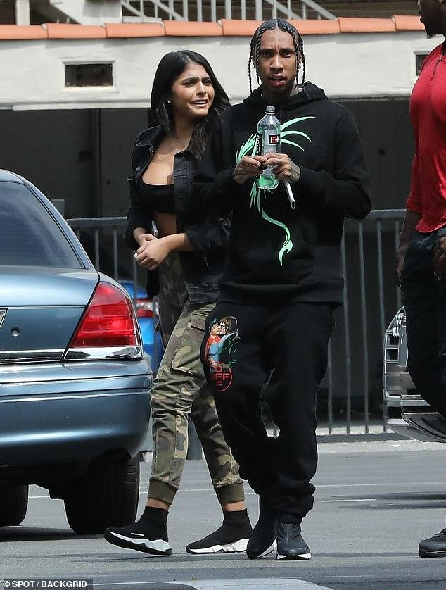Tyga New Girlfriend Kylie Jenner Lookalike