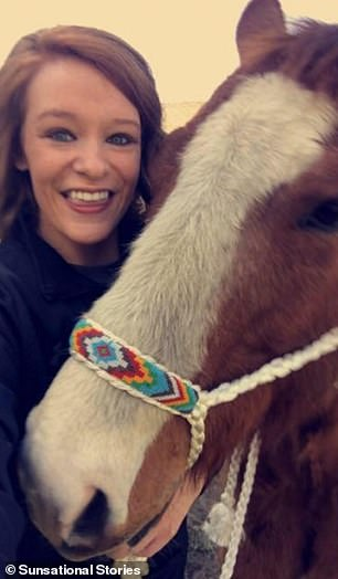 For Jaci, horse-riding has always been a release. She and Alex focused on horses to distract themselves from Alex's disease, and she would ride to get through her grief when Alex was gone