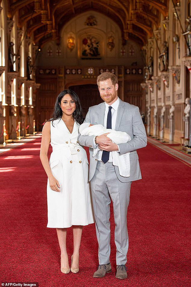 Nearly a week after Archie's clandestine arrival, Buckingham Palace last night still refused to confirm that it took place at London's Portland Hospital, or to release the name of a single member of the medical team
