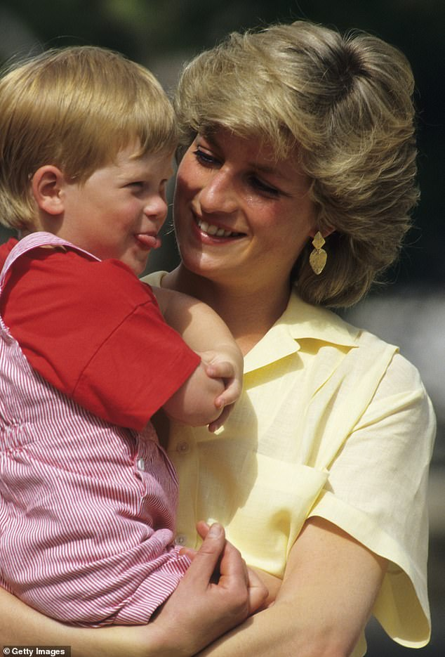 Prince Harry was particularly close to his mother Diana, who tragically died on the 31 August 1997