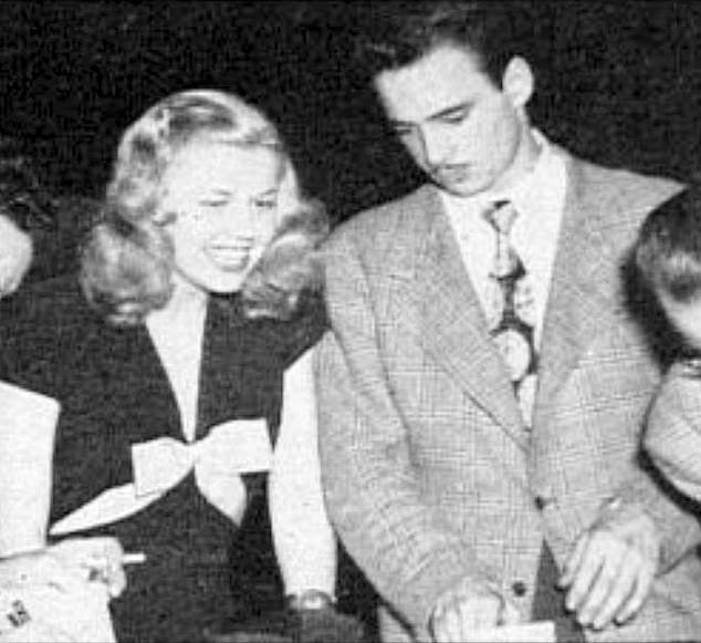 """Doris Day married her second husband, saxophonist George Weidler, on March 30, 1947. The couple lived in a trailer park in Los Angeles and divorced after three years. Doris remembered her wedding day and said, """"I should have worn black."""""""