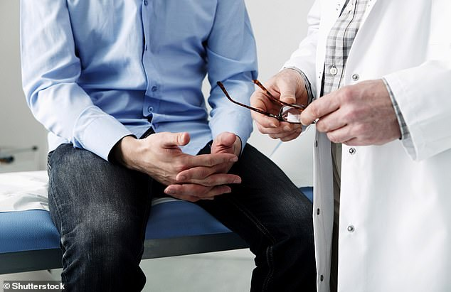Treatment option: NHS figures show that only around 30 per cent of men eligible for active surveillance choose it after advice from their doctors