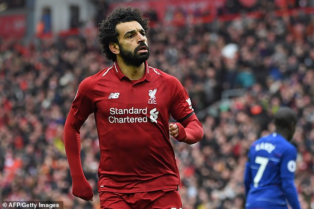 The lightning of Mohamed Salah against Chelsea is one of the goals of the year