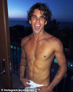 Revealed: Model Jay Alvarrez (left) shared on Tuesday how YouTuber James Charles slid into his Instagram DM's in February despite him being heterosexual