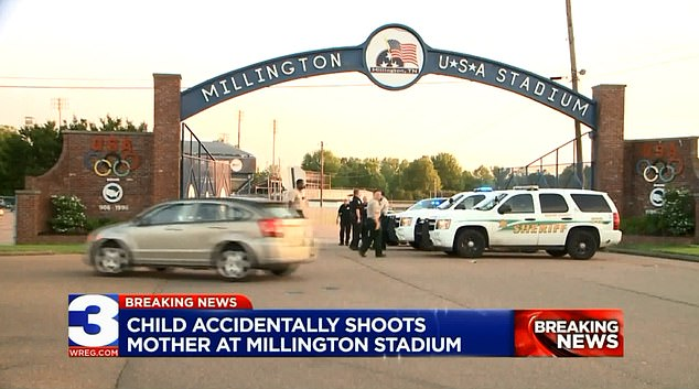 The boy's mother was rushed form the ballfield to a hospital in critical condition, which has since been upgraded to stable