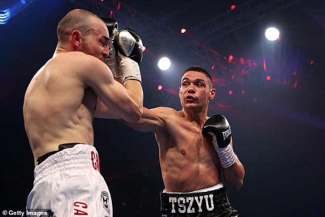 Tszyu became more and more dominant as the fight went into the later rounds, and picked off Camilleri, who suffered his sixth loss in 24 starts