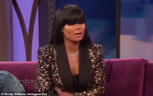 'Expedited':While the star began by saying there was 'no cheating' and that she and Tyga just simply grew apart, things got dicey when Chyna suggested something that 'expedited' the breakup of their family
