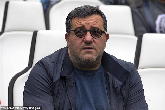 Football agent Mino Raiola was handed a three-month global transfer ban by FIFA last week