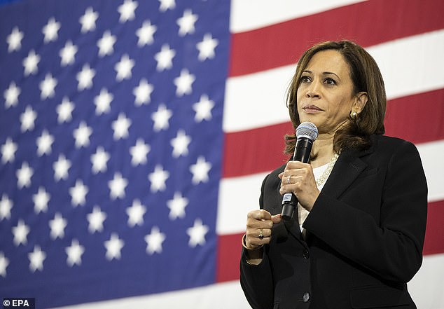 Kamala Harris turned the speculation that she would make a perfect running mate to Joe Biden back around on him