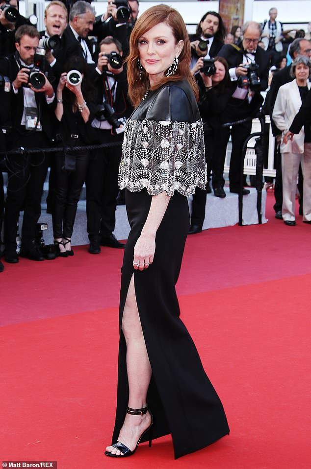 Simply chic! Julianne Moore has impressed fashion fans once again with another stylish ensemble at the screening of film Les Misérables, directed by Ladj Ly