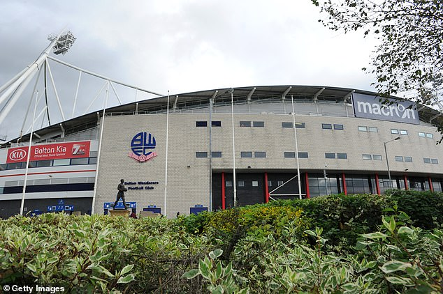 Emergency food banks have been set up at Bolton's stadium to help members of staff