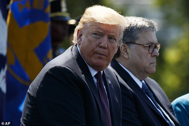 President Trump has lauded Attorney General William Barr's move to open an investigation of the early days of the Russia probe