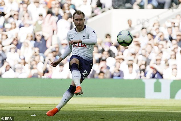 Tottenham are anticipating a number of offers for creative midfielderChristian Eriksen