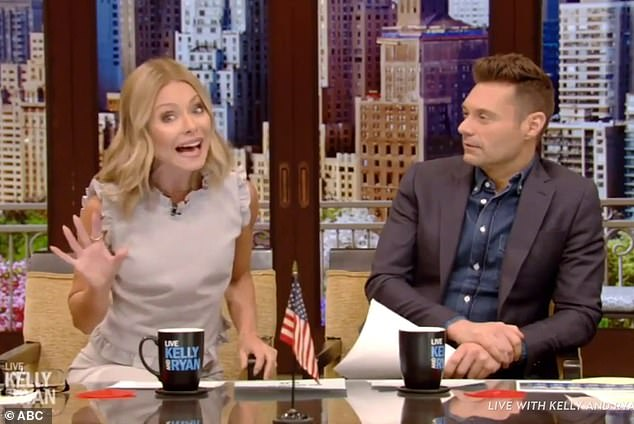 'You know how I feel about this show': Kelly Ripa called The Bachelor franchise disgusting and creepy on Tuesday's episode of Live with Kelly and Ryan