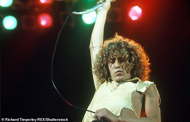 Last year Daltrey revealed that his dislike of with cannabis has been a lifelong issues (1974)