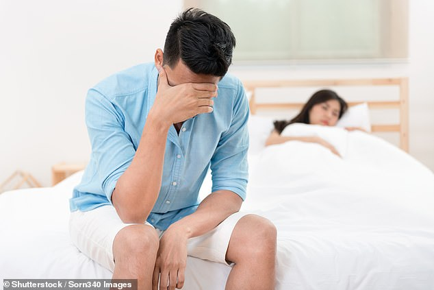 Writing in the journal Physiotherapy, Mr Myers said 30 per cent of men suffer from premature ejaculation. Figures suggest more than half of men over the age of 50 have erectile dysfunction, which gets more common with age