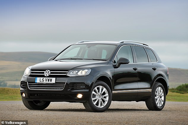 This previous-generation VW Touareg proves that big SUVs can be as durable as they look
