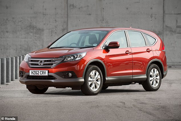 This version of the Honda CR-V has just been replaced with a new one. Prices should fall