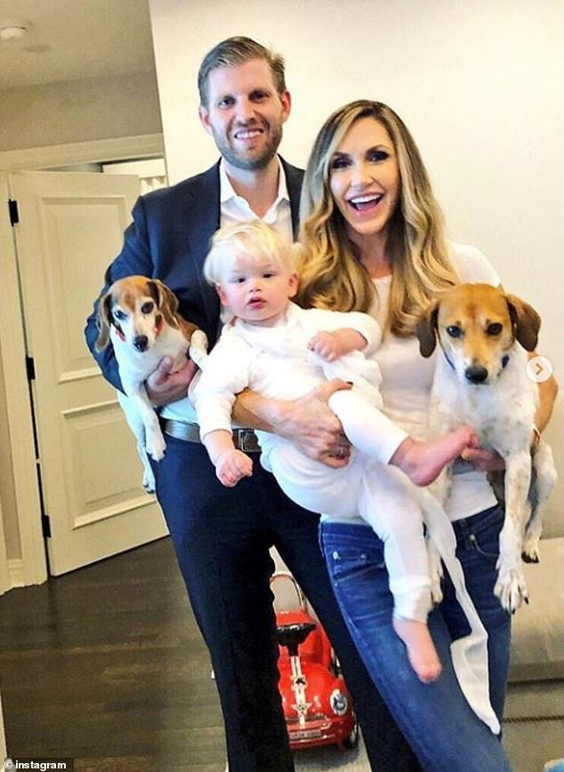 Lara Trump shares family photos on the three-year