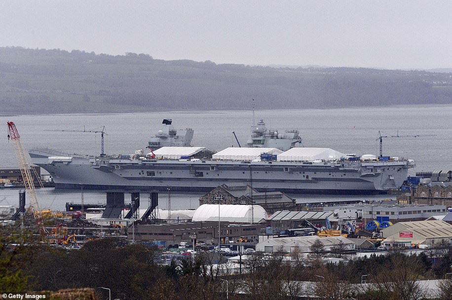 A number of ship building yards around the country were involved in the build including the Govan and Scotstoun in Glasgow, Appledore in Devon, Cammell Laird in Birkenhead, Wirral, A&P on the Tyne in Newcastle and Portsmouth