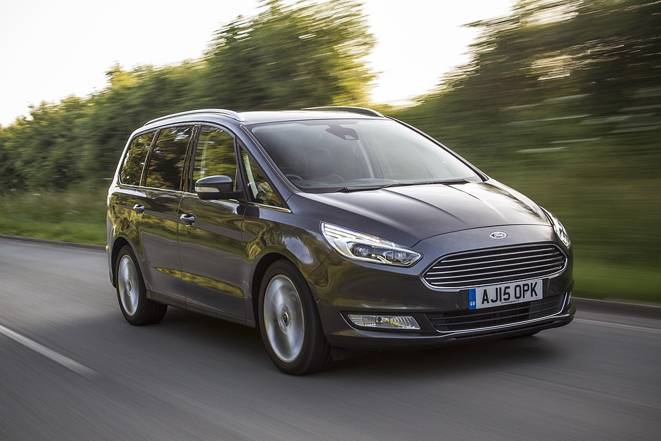 The 'exceptional and popular captain' was dismissed for allegedly driving the ship's Ford Galaxy (similar to above) 'as if it was his own'