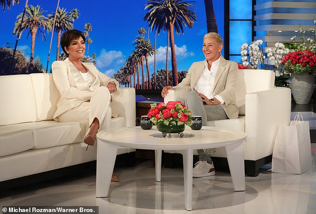 To battle: 'This means war Jenner,' Ellen joked