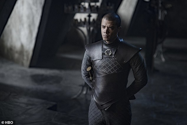 """Disappointed: Jacob Anderson, who plays Gray Worm, told TMZ that the backlash was """"shit"""" and the negative reaction """"offensive"""" to the cast and crew"""