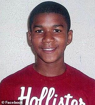 Trayvon was shot dead by then-neighborhood watch volunteer George Zimmerman in Florida when he was just 17
