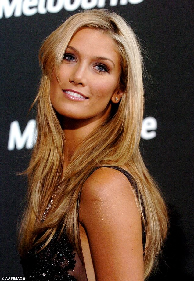 'What's happened to Delta's face?' The Voice fans accused Goodrem, 34, of getting cosmetic work after the singer showed off a VERY plump pout and smooth skin on launch night. Pictured in 2007