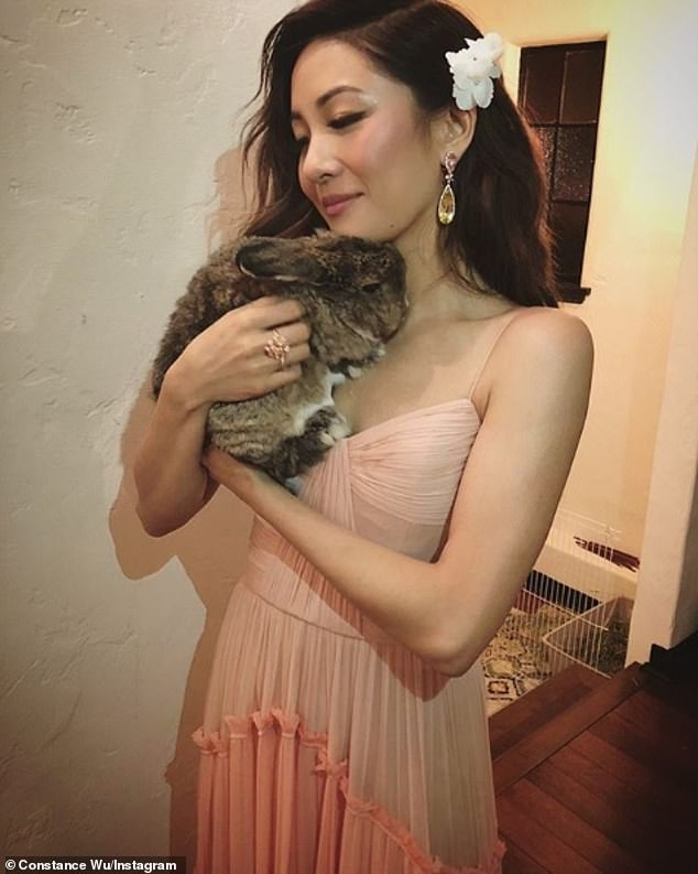 Constance Wu accused of letting free-roaming pet bunny 'poop