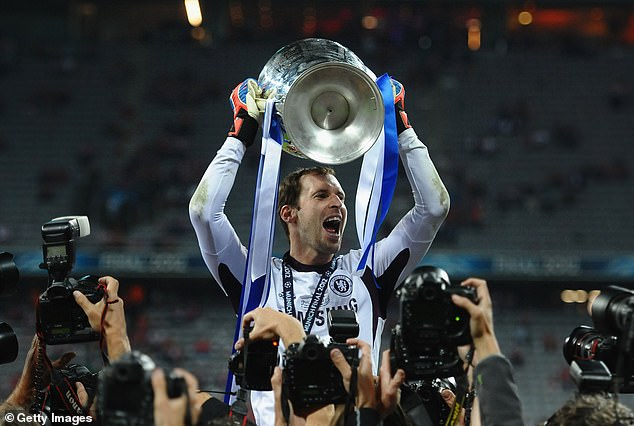Cech was part of the Chelsea side that lifted the Champions League in Munich in 2012