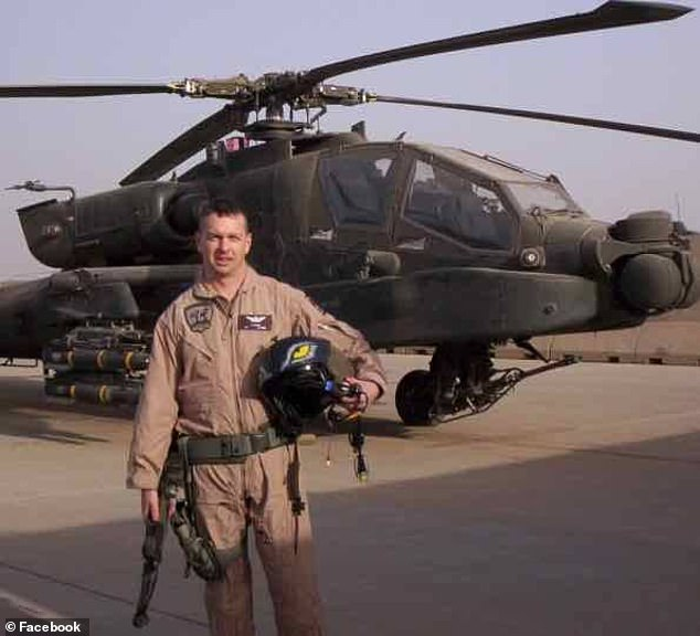 Martin was Fort Campbell Army Major before retiring and becoming a commercial pilot