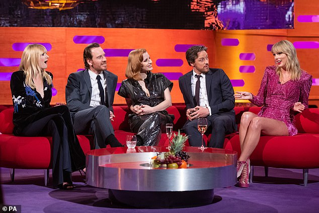 Tune in: The Graham Norton shows arias on BBC One on Friday nights