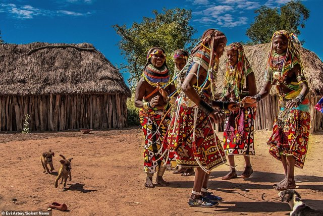 Evi Arbay, a specialist tour operator and photographer, captured these images while taking a group of Indonesian tourists around the southern province of Huila, in Angola