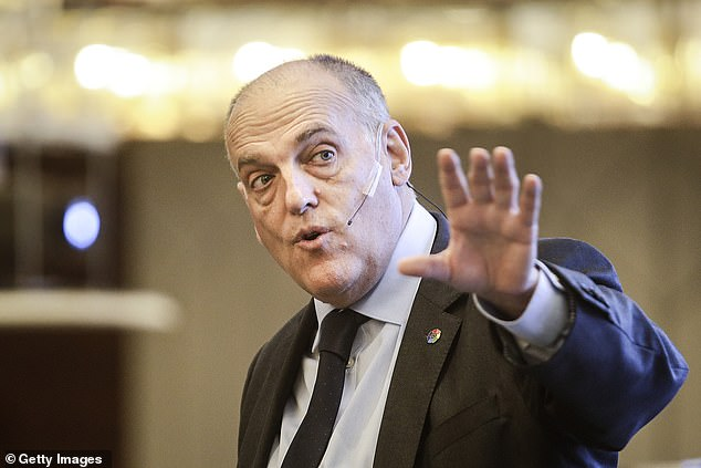 He has also accused La Liga president Javier Tebas of racist undertones in his criticisms of City
